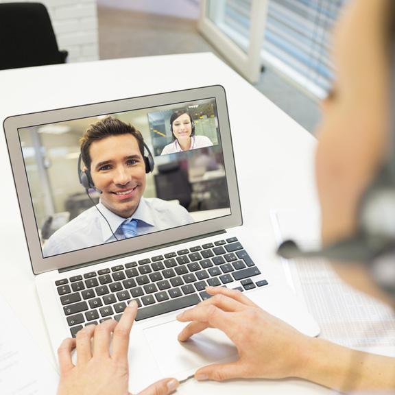 Entrevistas individuais por Skype